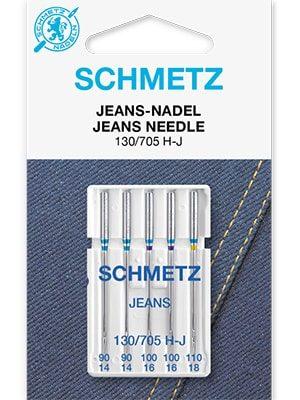 Иглы для джинсовых тканей Jeans