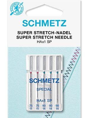 Иглы для особо эластичных тканей Super stretch