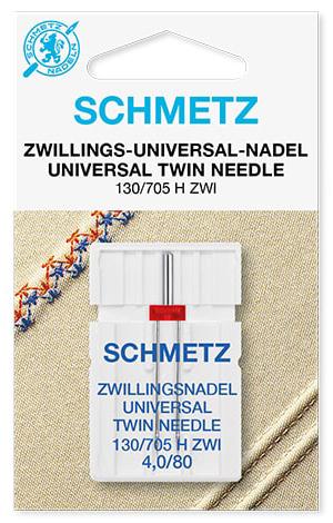 Голка schmetz twin Universal 1x4,0/80
