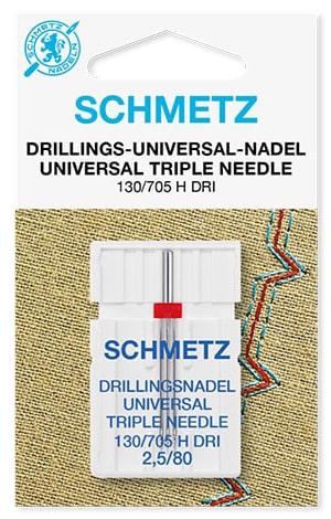 Голка schmetz triple universal 1х2,5/80