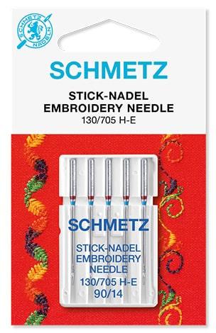 Иглы Schmetz Embroidery 5x90