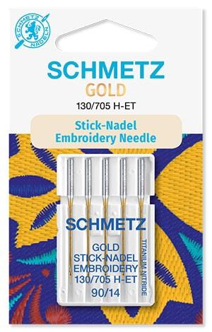 Голки schmetz gold embroidery 5x90