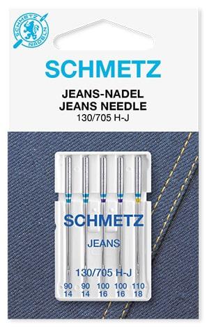 Иглы schmetz jeans 2x90 2x100 1x110