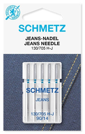 Голки schmetz jeans 5х90