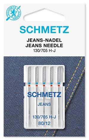 Голки schmetz jeans 5x80
