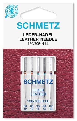 Иглы schmetz leather 2x80 2x90 1x100