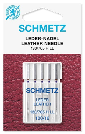 Иглы schmetz leather 5x100