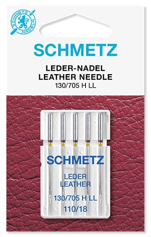 Иглы schmetz leather 5x110