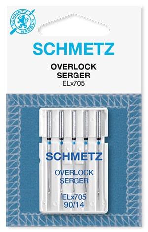 Голки schmetz overlock 5x90