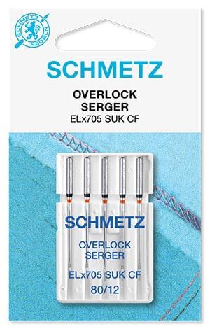 Голки schmetz overlock SUK-CF 5x80