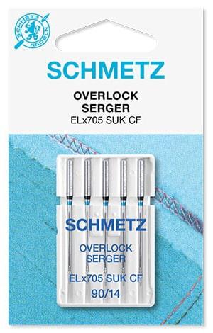 Иглы schmetz overlock SUK-CF 5x90