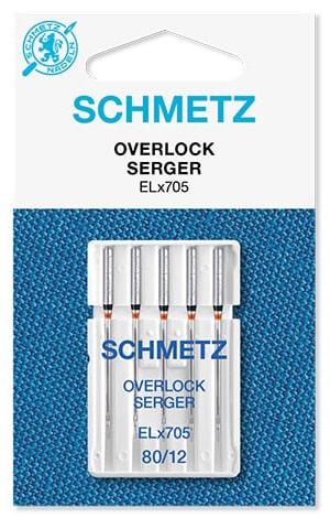 Голки schmetz overlock 5x80