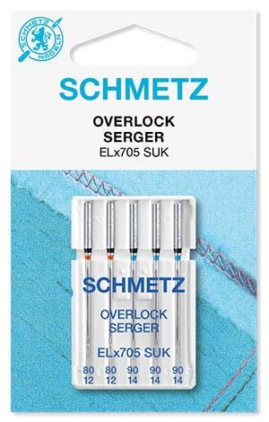 Иглы schmetz overlock suk 2x80 3x90