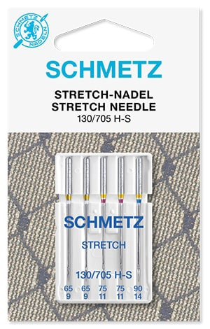 Иглы schmetz stretch 2x65 2x75 1x90
