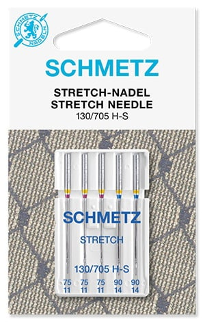 Иглы schmetz stretch 3x75 2x90
