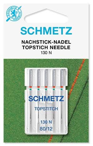 Голки schmetz topstitch 5x80