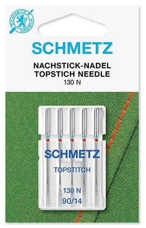 Иглы schmetz topstitch 5x90