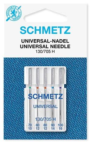 Иглы Schmetz universal 1х70, 2х80, 1х90, 1х100