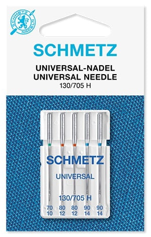 Иглы schmetz universal 1x70 2x80 2x90