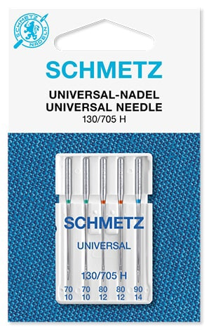 Иглы schmetz universal 2x70 2x80 1x90