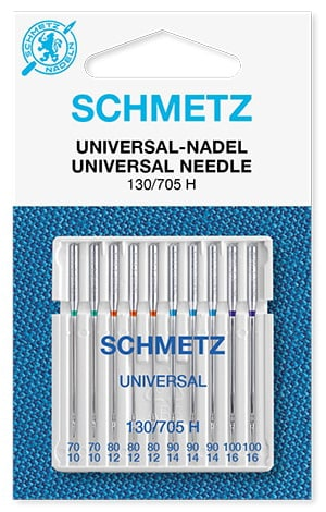 Иглы Schmetz universal 2х70, 3х80, 3х90, 2х100