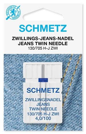 Игла schmetz twin jeans 1x4,0/100