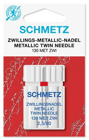 Игла schmetz twin metallic 2,5x80