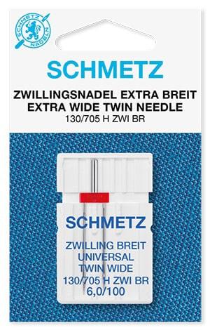 Голка schmetz twin universal extra wide 1x6,0/100