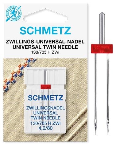 schmetz twin Universal 1x4,0/80