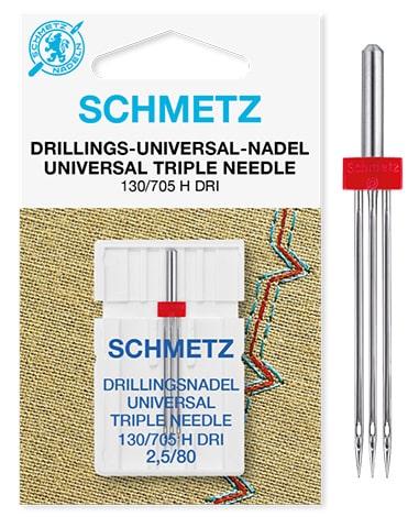 schmetz triple universal 1х2,5/80