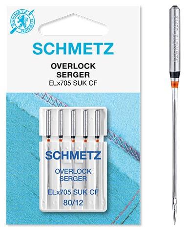 schmetz overlock SUK-CF 5x80