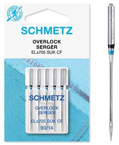 schmetz overlock SUK-CF 5x90