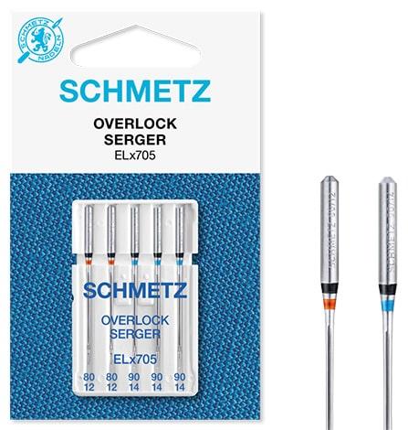 schmetz overlock 2x80 3x90