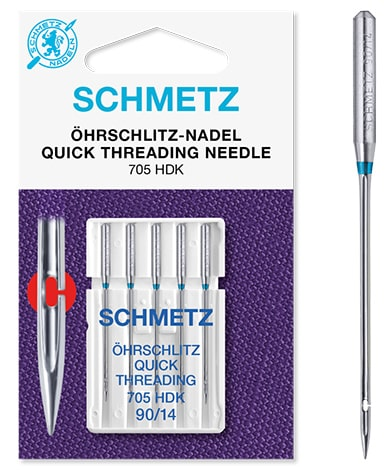 schmetz quick treading 5x90