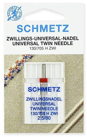 schmetz twin universal 2.5x80