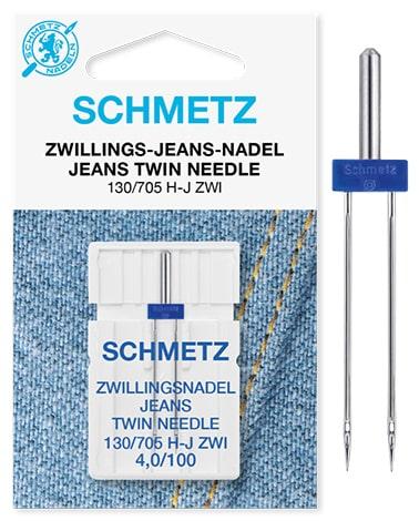 schmetz twin jeans 1x4,0/100